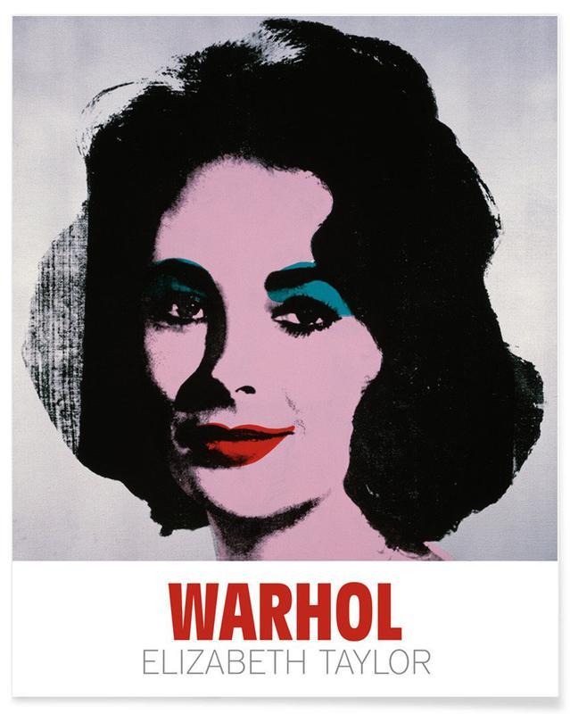 Andy Warhol - Liz, 1963 póster