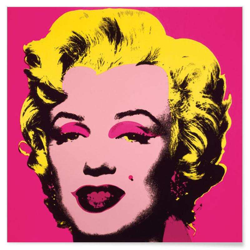 Andy Warhol - Marilyn Monroe (Hot Pink), 1967 poster