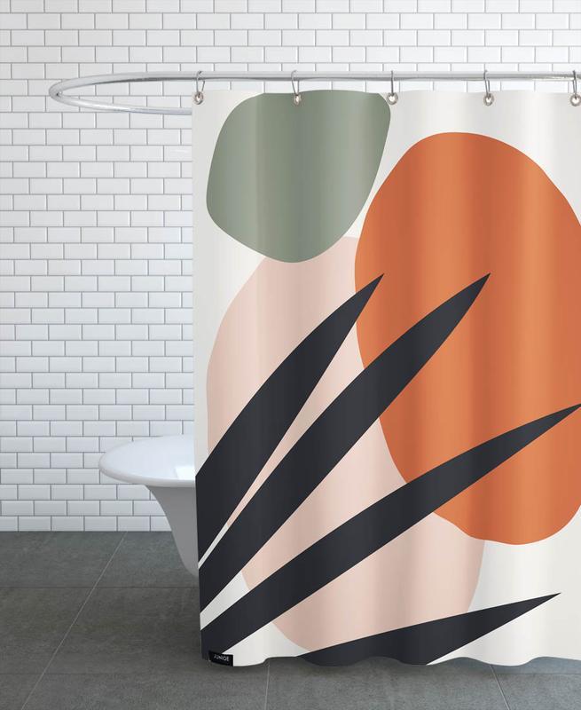 Leaves & Plants, Reach Shower Curtain
