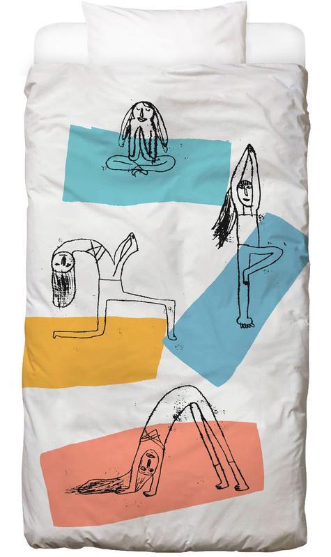 Yoga -Kinderbettwäsche