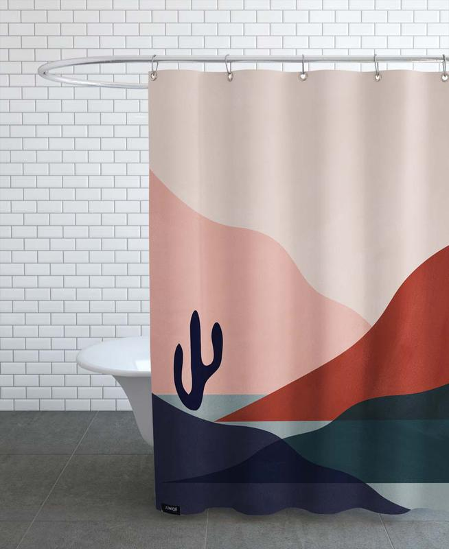 Deserts, Abstract Landscapes, Sunsets, Desert Shower Curtain