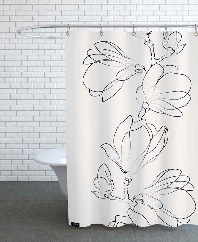Botanic -Duschvorhang