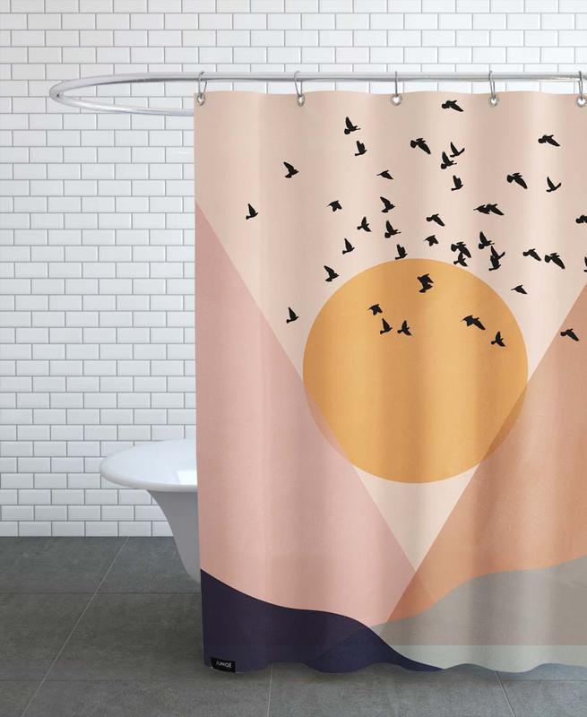 Sun Flock -Duschvorhang