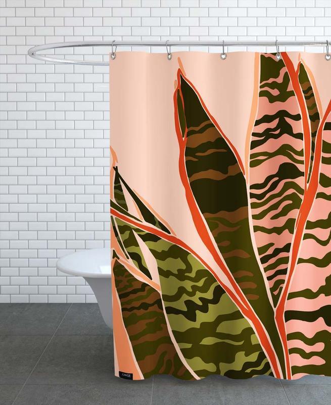 Blätter & Pflanzen, Plant II -Duschvorhang