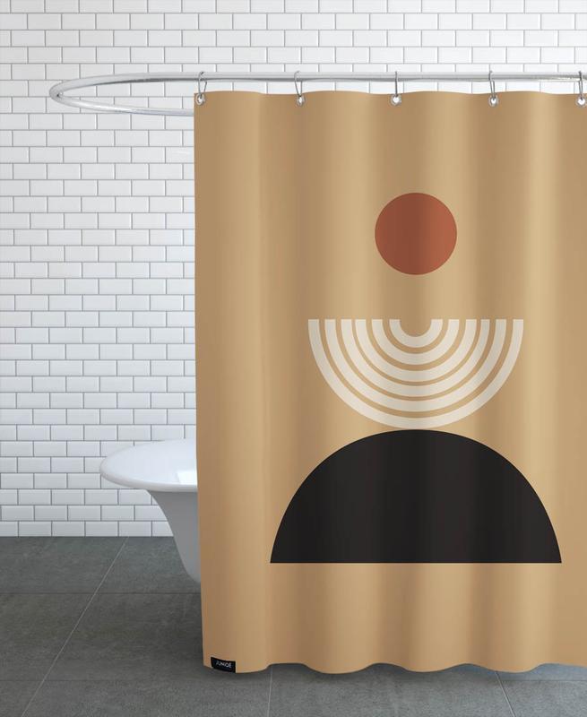 , Caramel -Duschvorhang