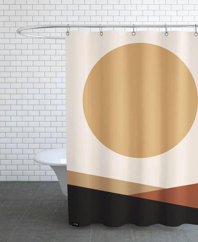 , Golden -Duschvorhang