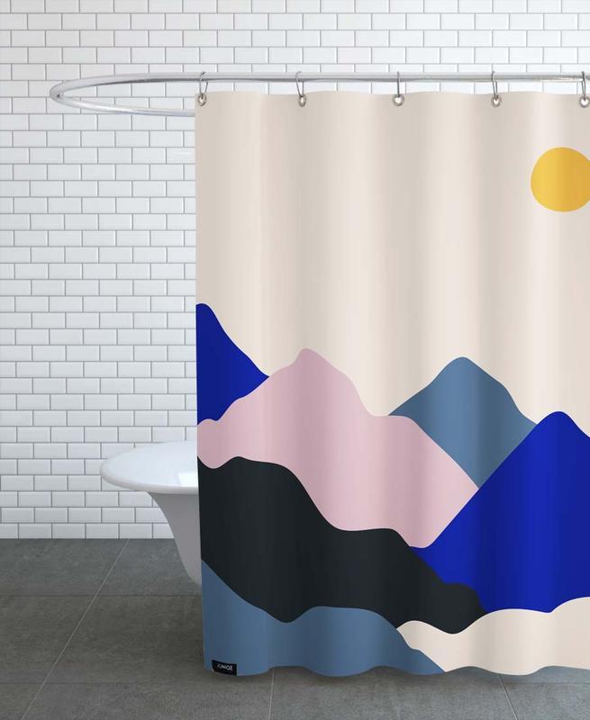 Mountains, Daybreak Shower Curtain