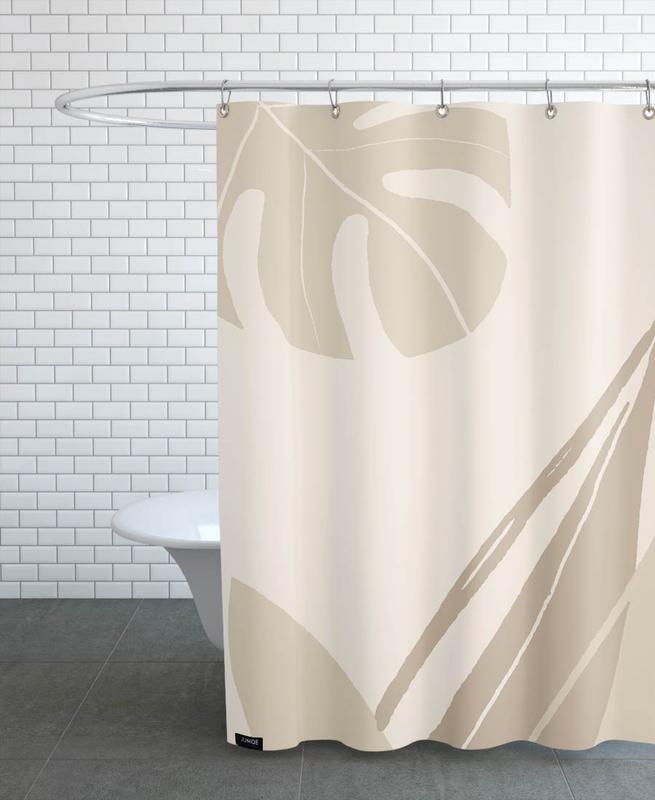 Leaves -Duschvorhang