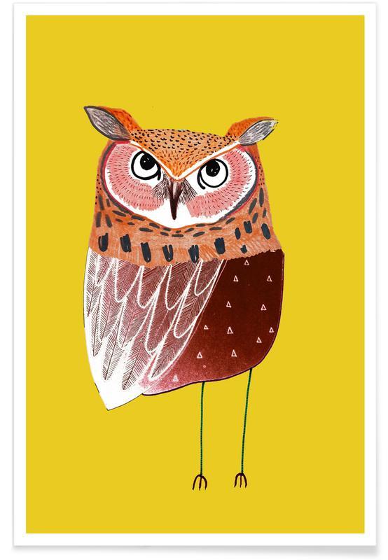 Owl Ears Poster