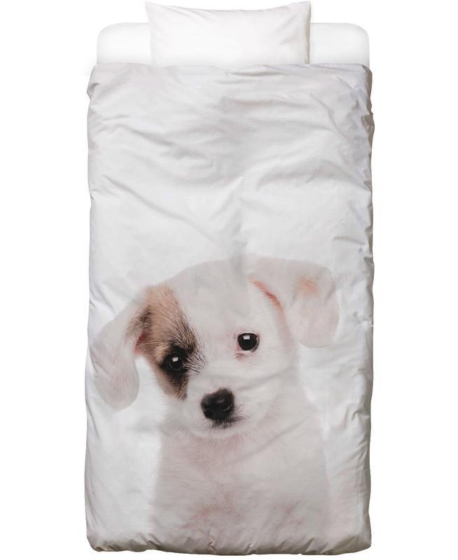 Hunde, Kinderzimmer & Kunst für Kinder, Puppy Bettwäsche