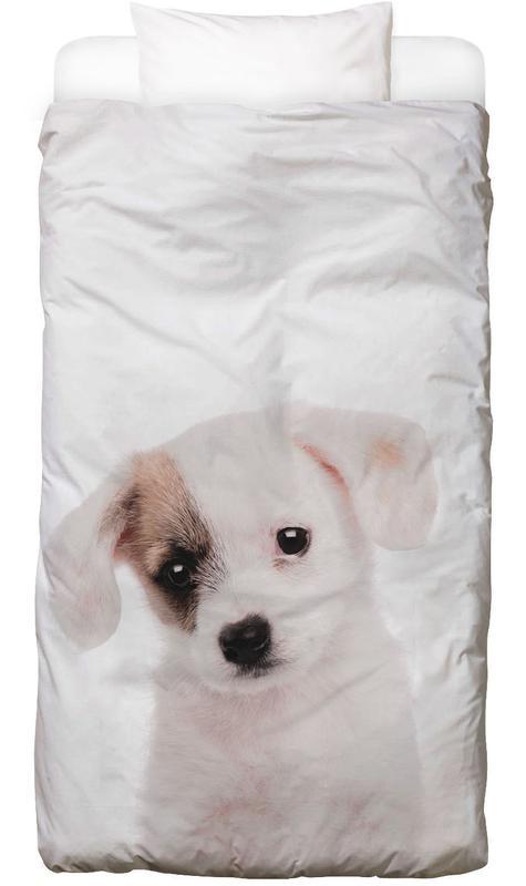 Hunde, Kinderzimmer & Kunst für Kinder, Puppy -Kinderbettwäsche