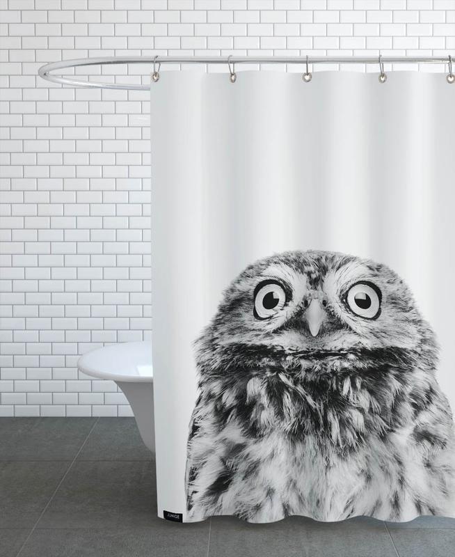 Owls, Black & White, Nursery & Art for Kids, Owl Classic Shower Curtain