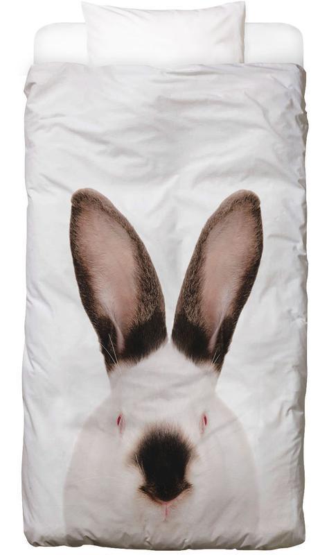 Lapins, Art pour enfants, Rabbit housse de couette enfant