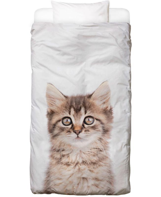 Katzen, Kinderzimmer & Kunst für Kinder, Kitten II Bettwäsche