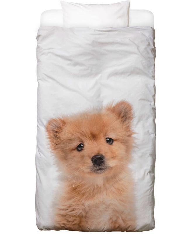 Chiens, Art pour enfants, Puppy II Linge de lit
