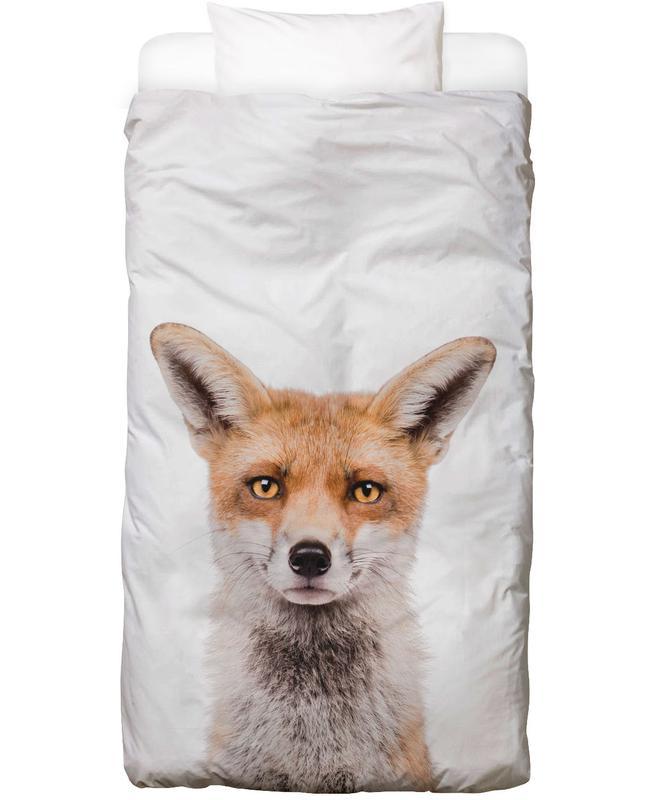 Renards, Art pour enfants, Fox Linge de lit