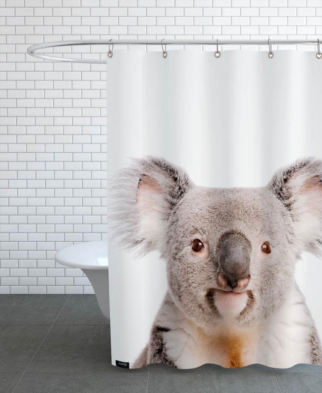 Koalas, Kinderzimmer & Kunst für Kinder, Koala -Duschvorhang