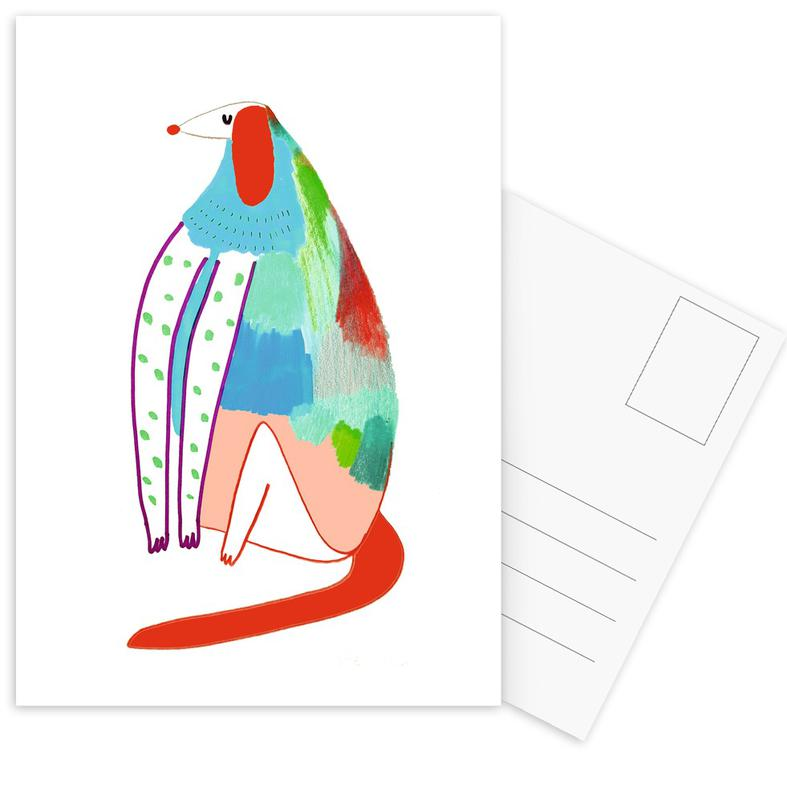 Patchy Dog cartes postales