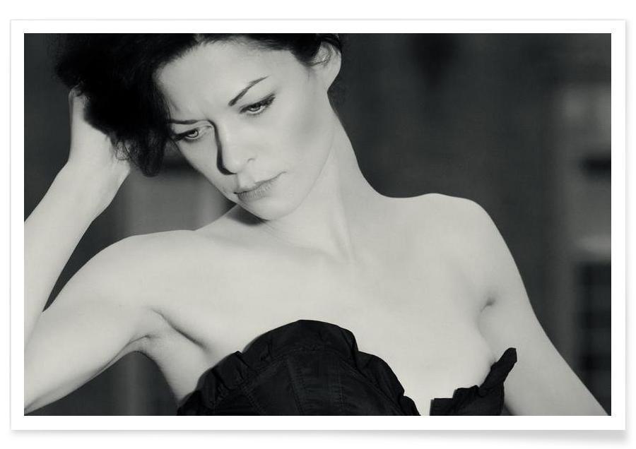 Noir & blanc, Portraits, Agent Provocateur affiche