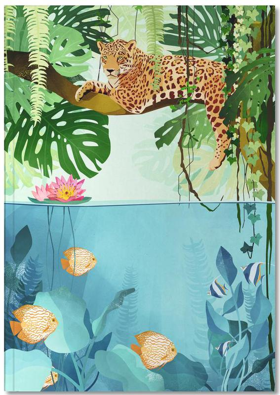 Art pour enfants, Tigres, Welcome to the Jungle Notebook