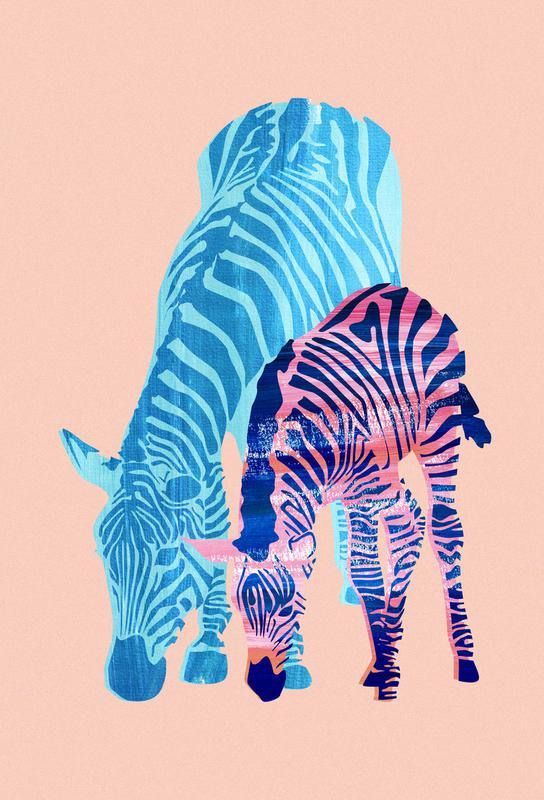 Striped Love alu dibond