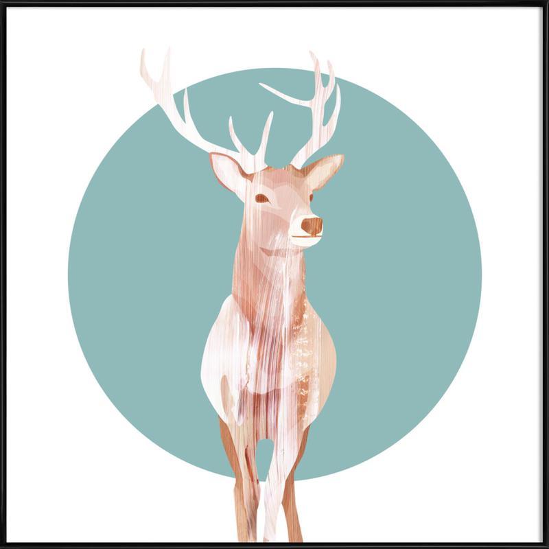 Deer ingelijste poster