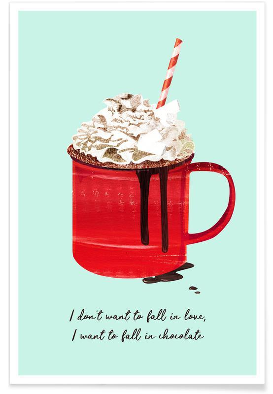 Noël, Fall in Chocolate affiche