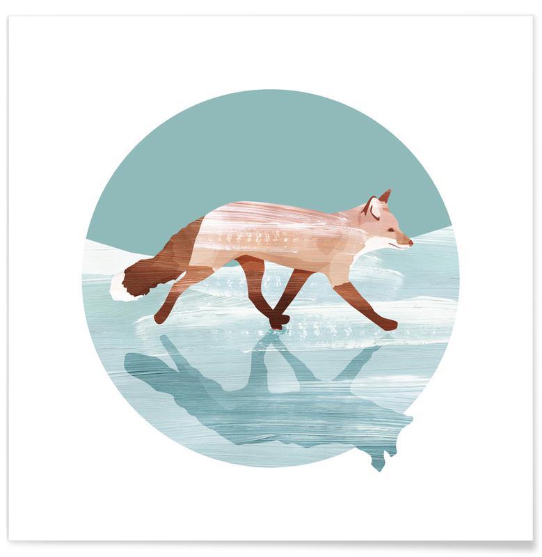 Renards, Run Foxy Run affiche