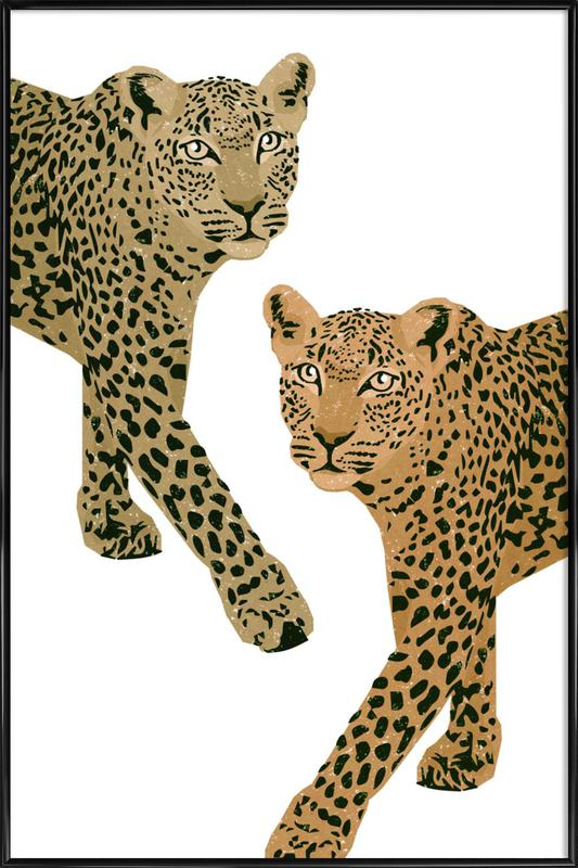 Double Trouble Framed Poster