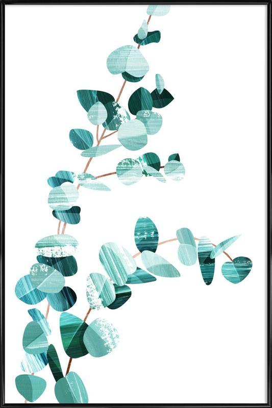 Eucalyptus -Bild mit Kunststoffrahmen