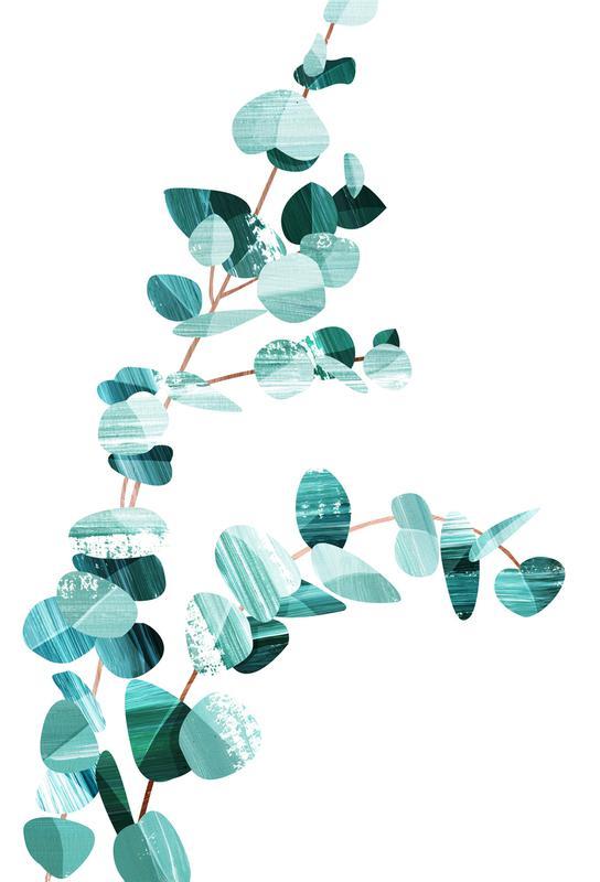 Eucalyptus Impression sur alu-Dibond