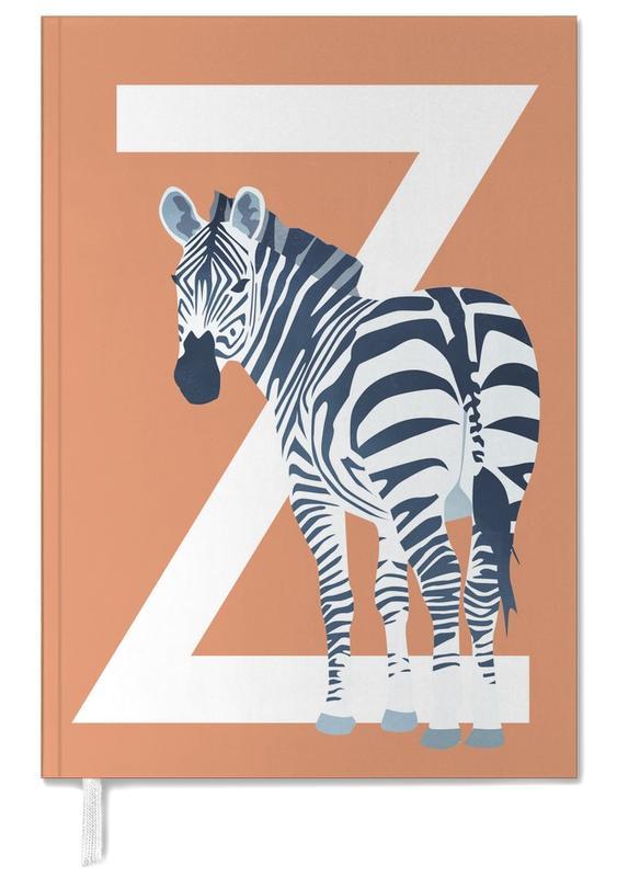Zebras, Nursery & Art for Kids, Z Zebra Personal Planner
