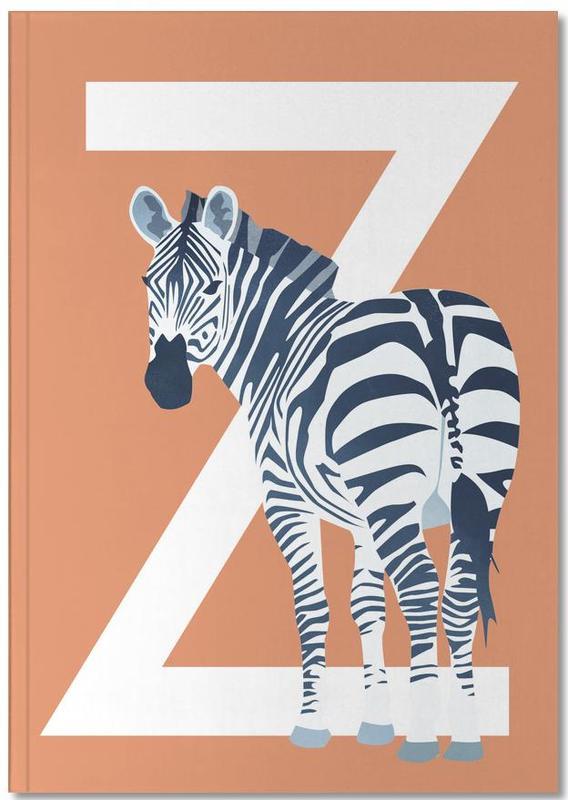 Zebra's, Kunst voor kinderen, Z Zebra Notebook