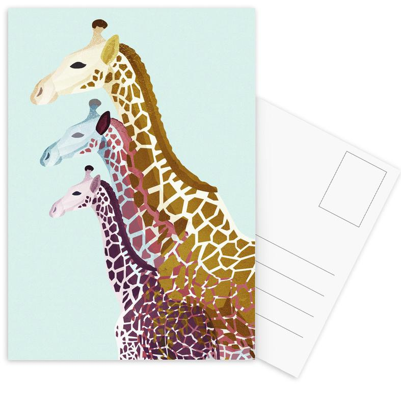 Giraffes Mint cartes postales