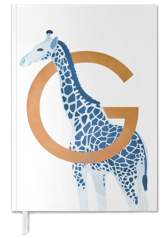 Girafes, Art pour enfants, G Giraffe agenda