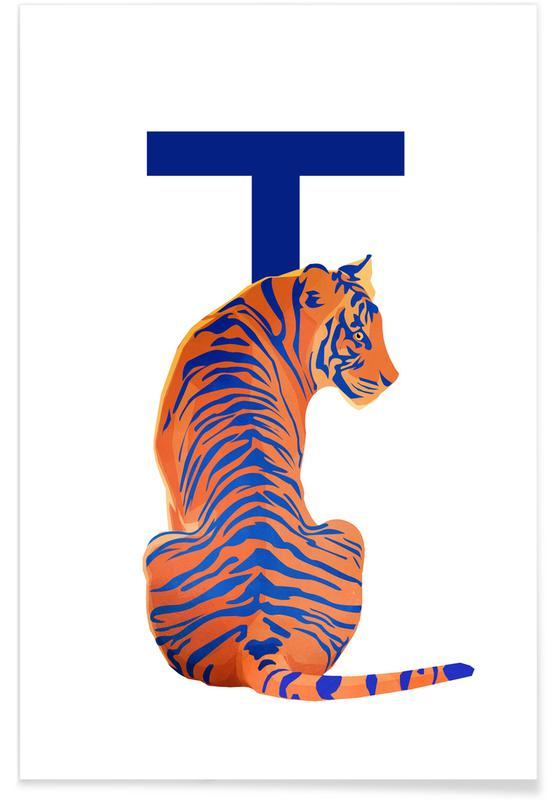T Tiger -Poster