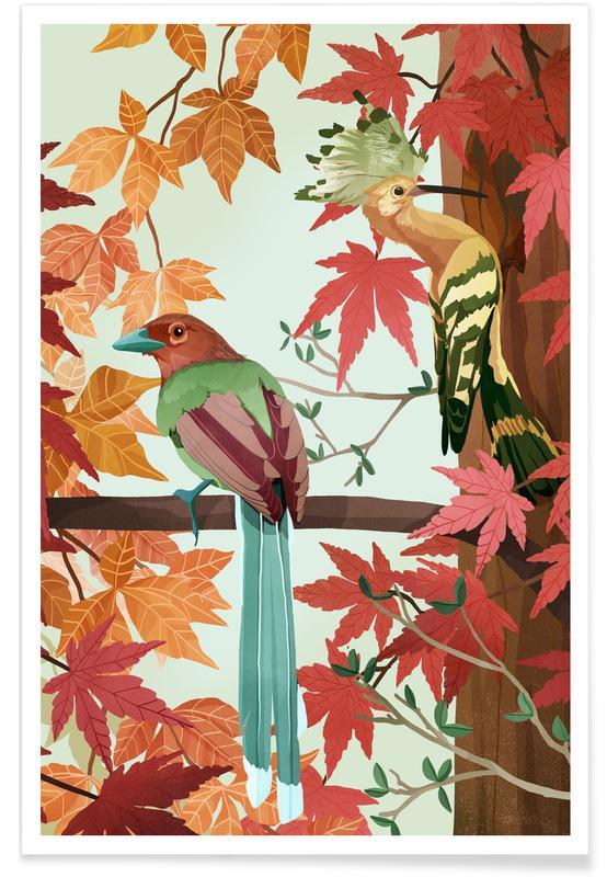 , Birds Of Autumn poster