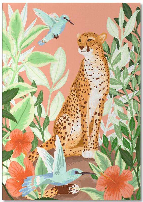 Cheetahs, Tropic Cheetah Notebook