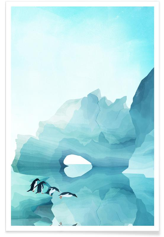 Penguins by Day affiche