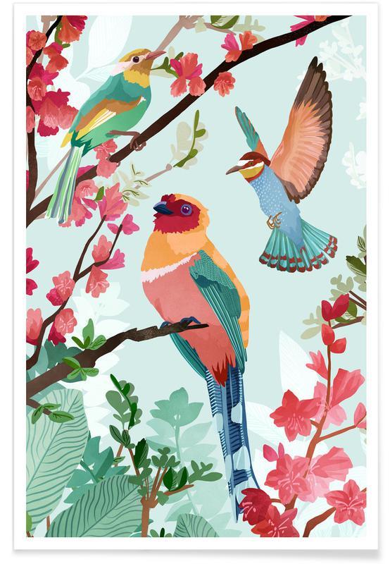 , Birds Of Summer Poster