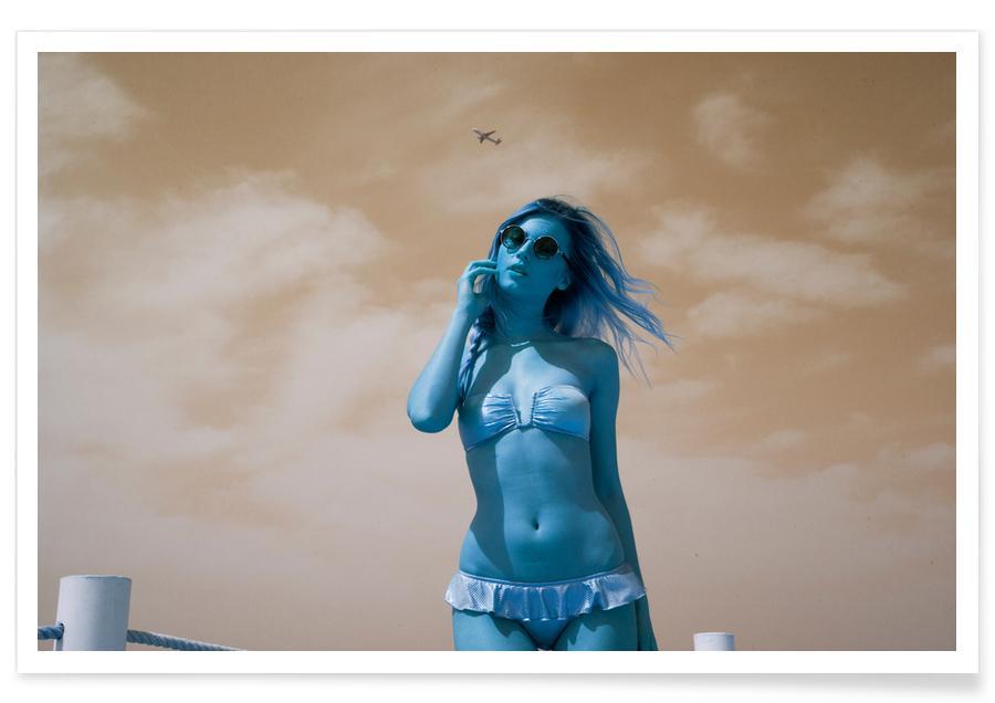 Modefotografie, Beach Girl -Poster
