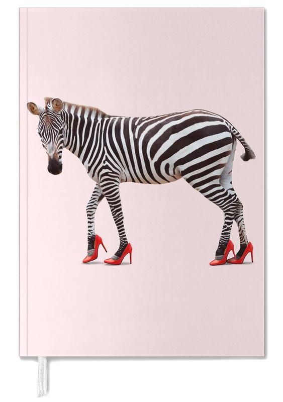 Funny, Zebras, Nursery & Art for Kids, Zebra Heels Personal Planner