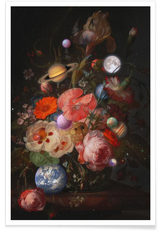 Bouquet Of Planets Poster