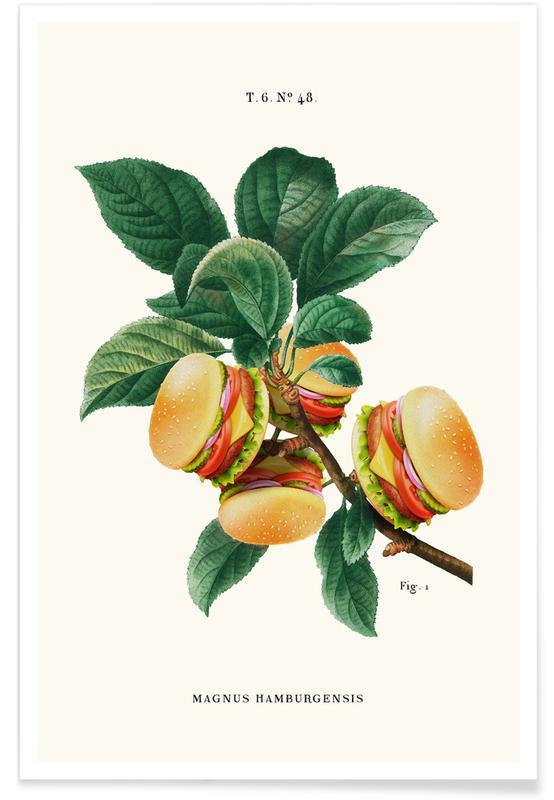 , Burger Plant Plakat