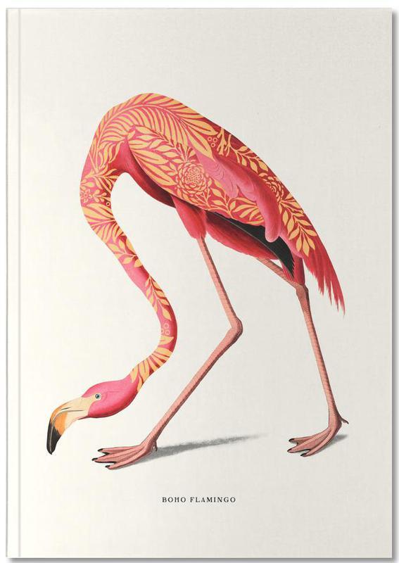 Flamingos, Boho Flamingo Notebook