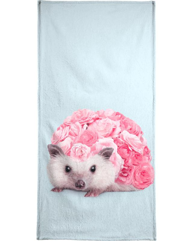 Hedgerosehog Bath Towel