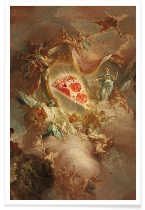 The Holy Pizza -Poster