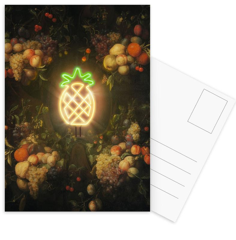 Pineapples, The Holy Pineapple Postcard Set