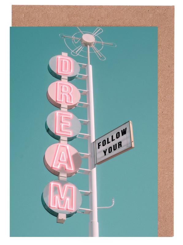Skylines, Follow Your Dream cartes de vœux
