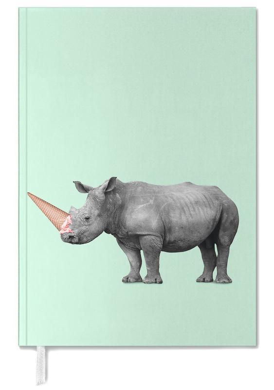 Ice Cream Rhino Personal Planner